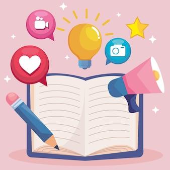 Verhalenboek met iconen