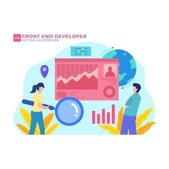 Verhogen verkopen vlakke afbeelding financieren financieel succes investering verkoop