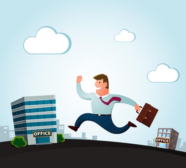 Verhuizen naar het nieuwe kantoor