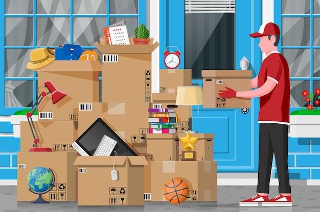Verhuizen naar nieuw huis