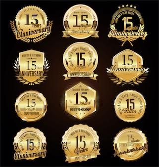 Verjaardag badges