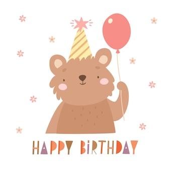 Verjaardag beer