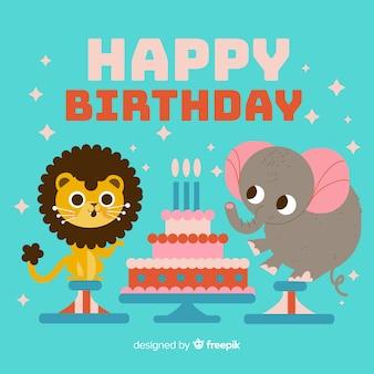 Verjaardag dier