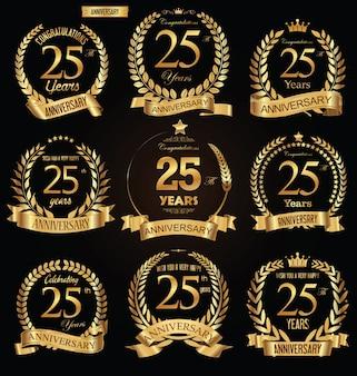 Verjaardag gouden badge