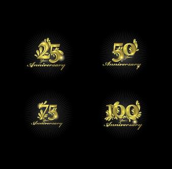 Verjaardag gouden nummers