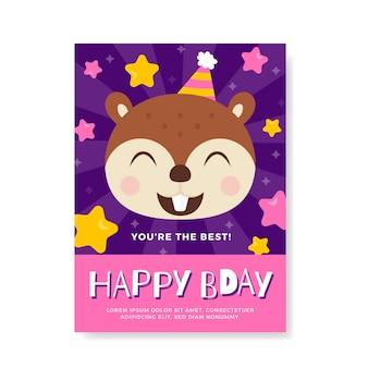 Verjaardag verjaardagsuitnodiging