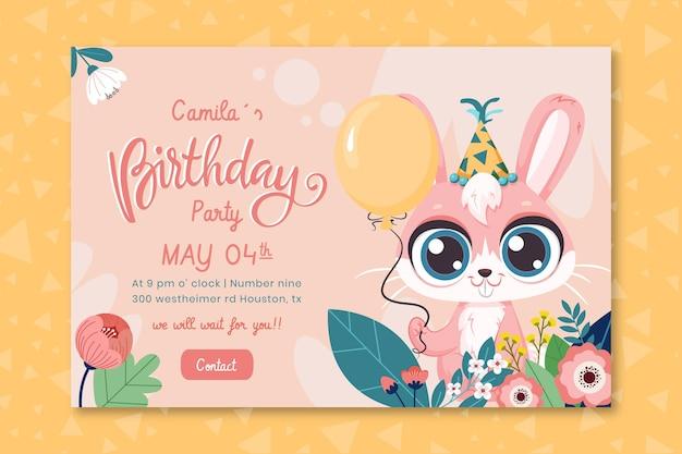 Verjaardagsbanner voor kinderen
