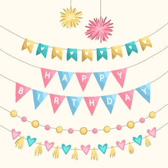 Verjaardagsfeest decoraties thema