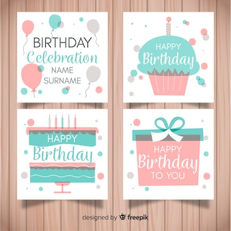 Verjaardagskaart collectie