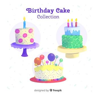 Verjaardagstaart collectie