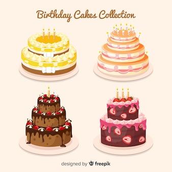 Verjaardagstaart-collectie