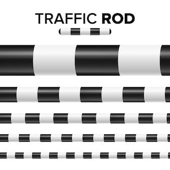 Verkeerspolitie stok illustratie