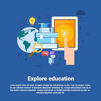 Verkennen leren training cursussen onderwijs