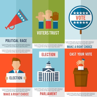 Verkiezingsaffichereeks