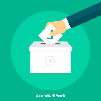 Verkiezingsconcept