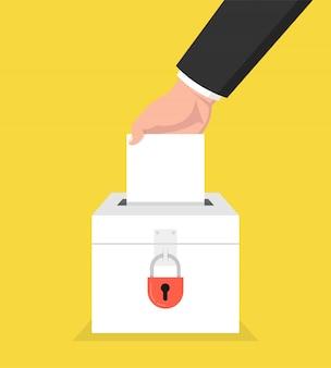 Verkiezingsdag concept