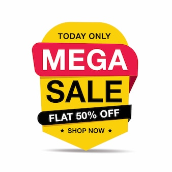 Verkoop en speciale aanbieding-tag, prijskaartjes, verkoopetiket, banner, vectorillustratie.