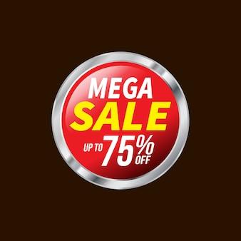 Verkoop en speciale aanbiedingmarkering, prijskaartjes, verkoopetiket, vectorillustratie.