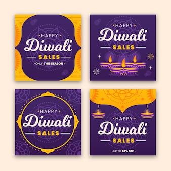 Verkoop instagram berichten diwali festival