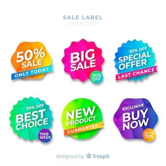 Verkoop labelcollectie