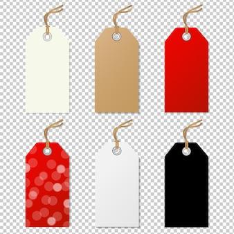 Verkoop tags-collectie