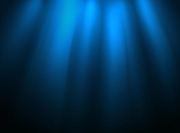 Verlichte toneelopstelling. presentatiesjabloon