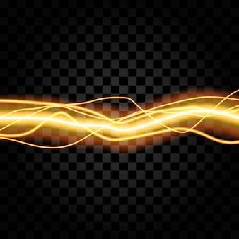 Verlichting elektrische onweersbui gloed sparkle vector