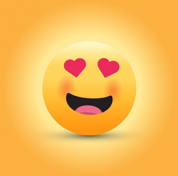 Verliefd emoticon.