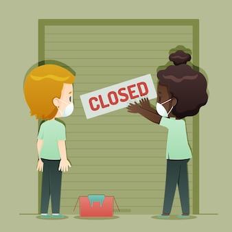 Verlies baan als gevolg van coronaviruscrisis