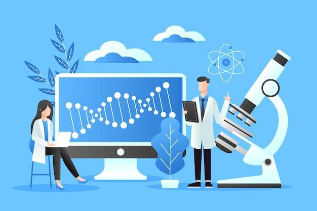 Verloop biotechnologie concept