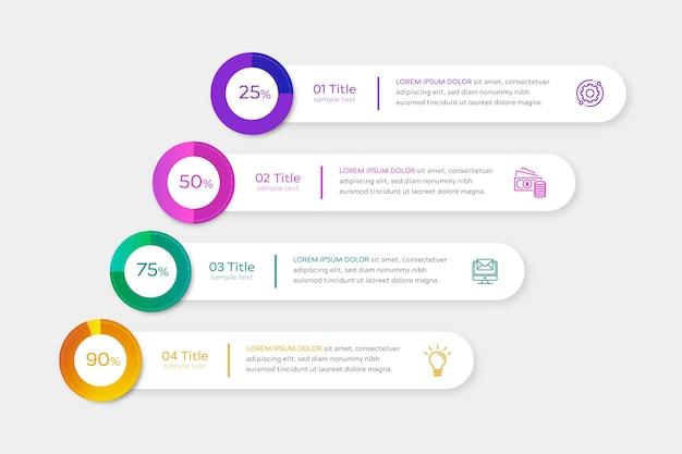 Verloop harvey bal diagrammen infographic
