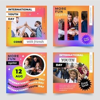 Verloop internationale jeugddag berichten collectie met foto