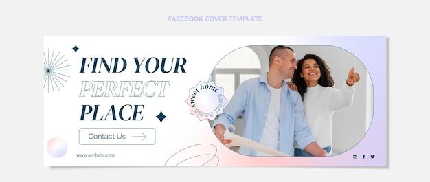 Verloop onroerend goed facebook omslag