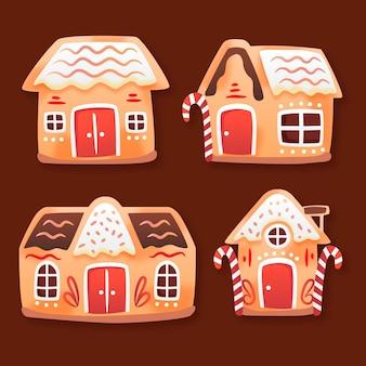 Verloop peperkoek huizen collectie