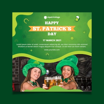 Verloop st. patrick's day squared flyer
