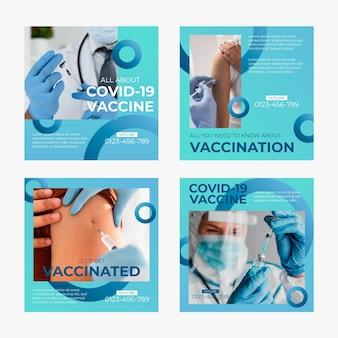 Verloop vaccin instagram postverzameling