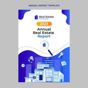 Verloop vastgoed jaarverslag met gebouw