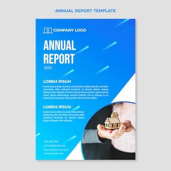 Verloop vastgoed jaarverslag