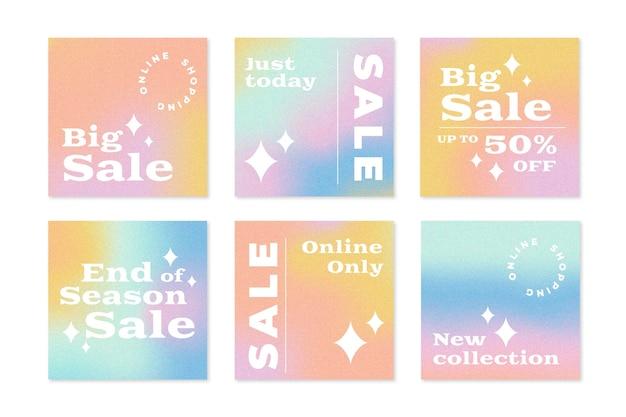 Verloop verkoop instagram postverzameling