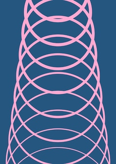 Verloop voorbladsjabloon. minimale trendy lay-out met halftoon. futuristische gradiënt voorbladsjabloon voor banner, presentatie en brochure. minimalistische kleurrijke vormen. abstracte zakelijke illustratie