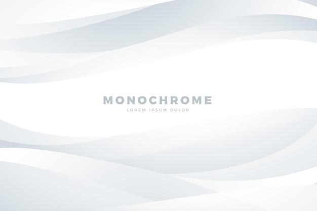 Verloop witte monochrome achtergrond