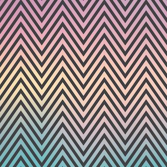 Verloop zig zag patroon, abstracte geometrische achtergrond. luxe en elegante stijlillustratie