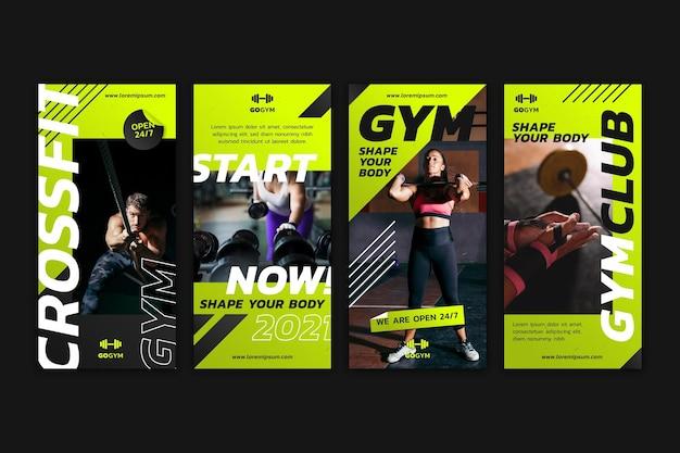 Verloopcollectie voor gezondheid en fitness