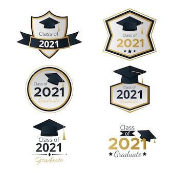 Verloopklasse van 2021-badgecollectie