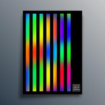 Verlooptextuursjabloon met lineair voor achtergrond, behang, flyer, poster, brochureomslag, typografie of andere afdrukproducten. illustratie