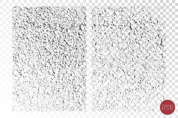 Verontruste gedetailleerde overlay-texturen van ruwe oppervlakken, gebarsten muren, steen en oude verf.