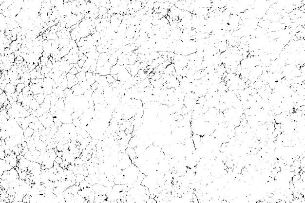 Verontruste overlay textuur van ruw oppervlak, droge grond, gebarsten grond.