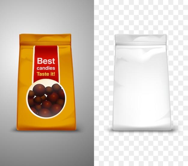 Verpakking ontwerp illustratie