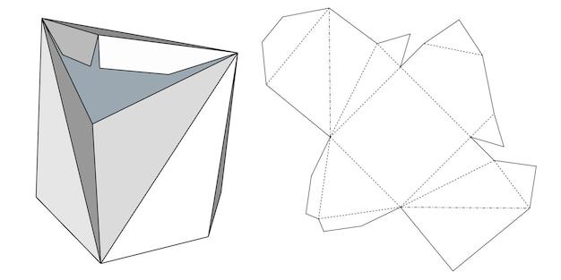 Verpakkingen voor geschenken, goederen en voedsel. vectorillustratie van een kartonnen doos. pakket sjabloon. geïsoleerde witte retail mock-up.