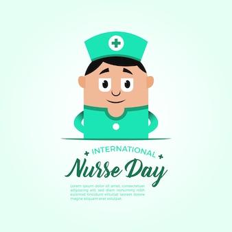 Verpleegster dag achtergrond